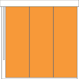 Good housekeeping room darkening panel track for What does light filtering blinds mean
