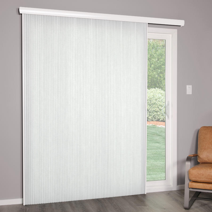"3/4"" Premier Light Filtering Vertical Cellulars"