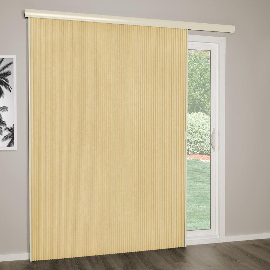 "3/4"" Premier Blackout Vertical Cellulars"