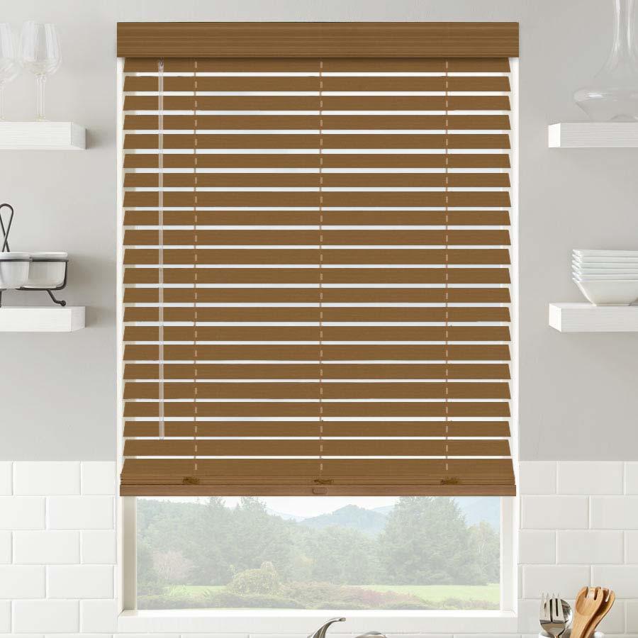 2 Quot American Hardwood Wooden Blinds Selectblinds Com