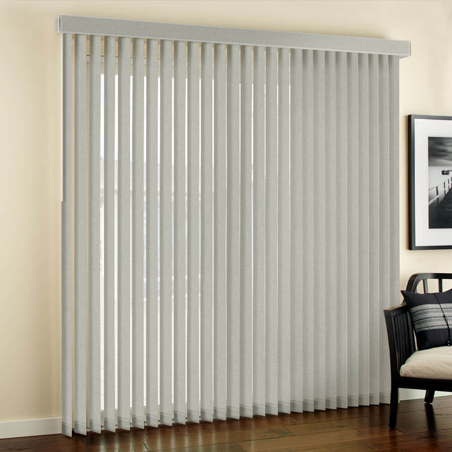 Designer Fabric Vertical Blinds