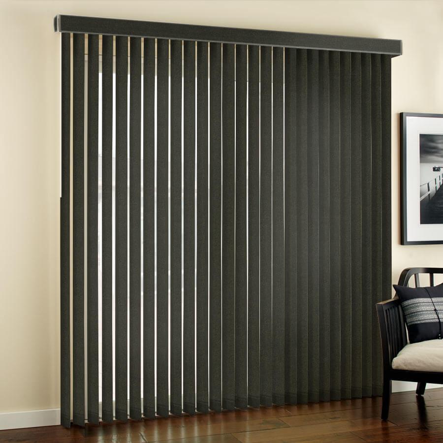 Designer Fabric Vertical Blinds