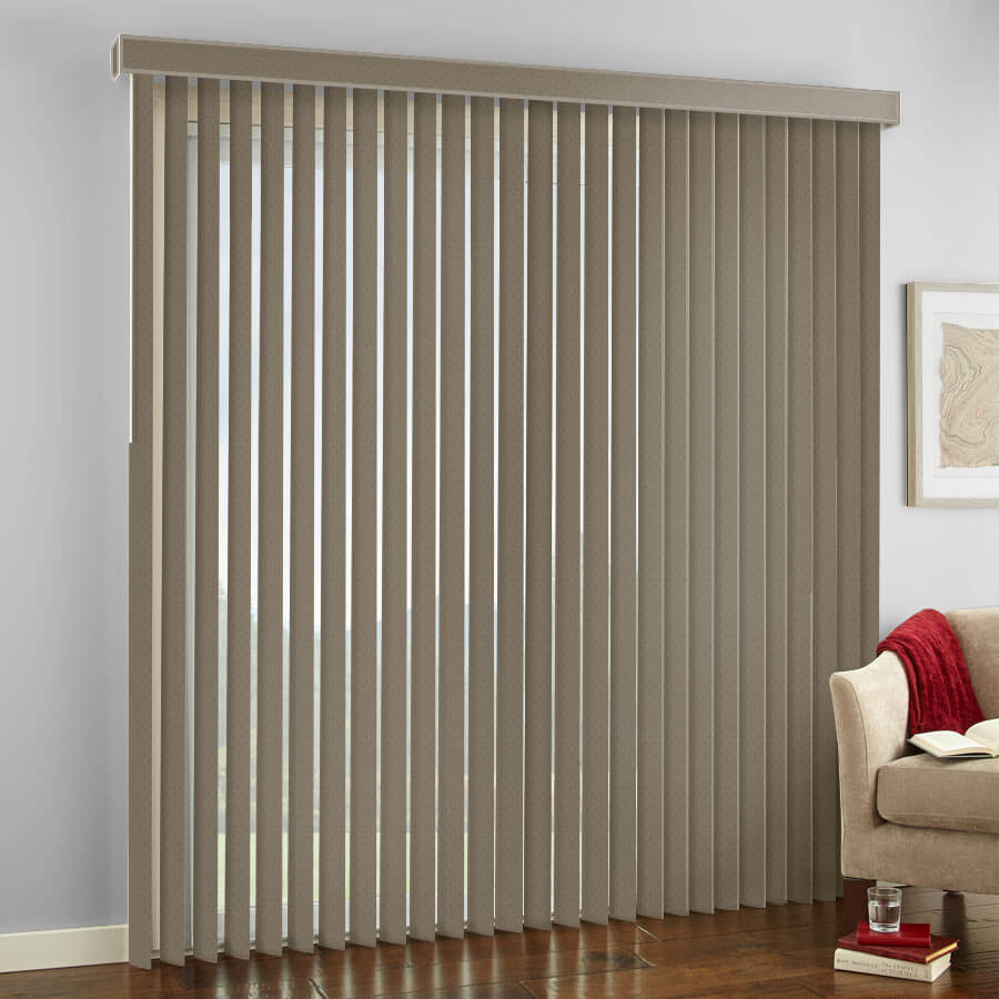 Premium Textured Vertical Blinds