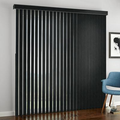 designer vertical blinds modern select blinds designer vertical blinds zoom black crow 6163 from selectblindscom