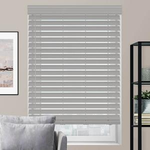 "2 1/2"" Luxe Modern Faux Wood Blinds"