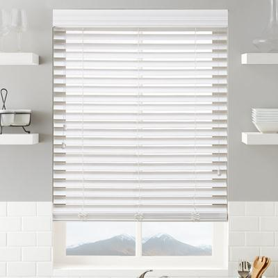 2 Quot Signature Faux Wood Blinds From Selectblinds Com