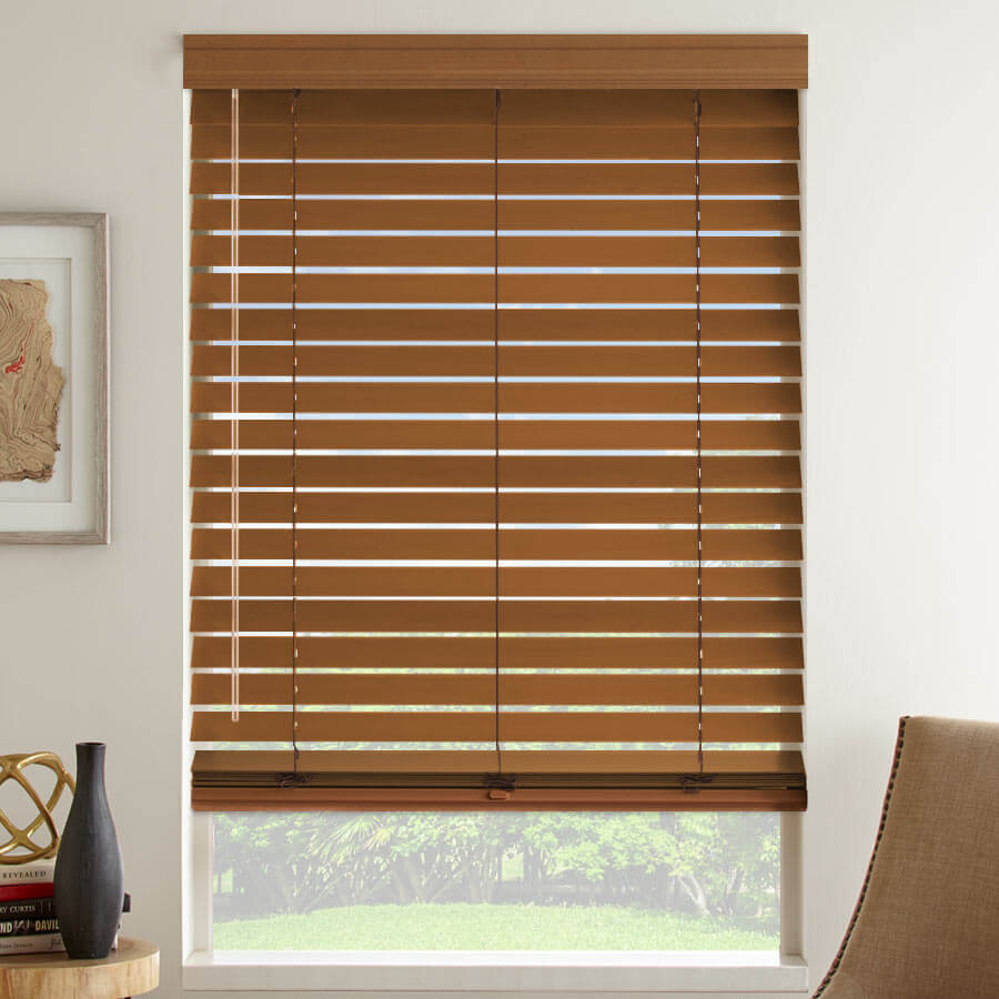"2 1/2"" Select American Hardwood Blinds"