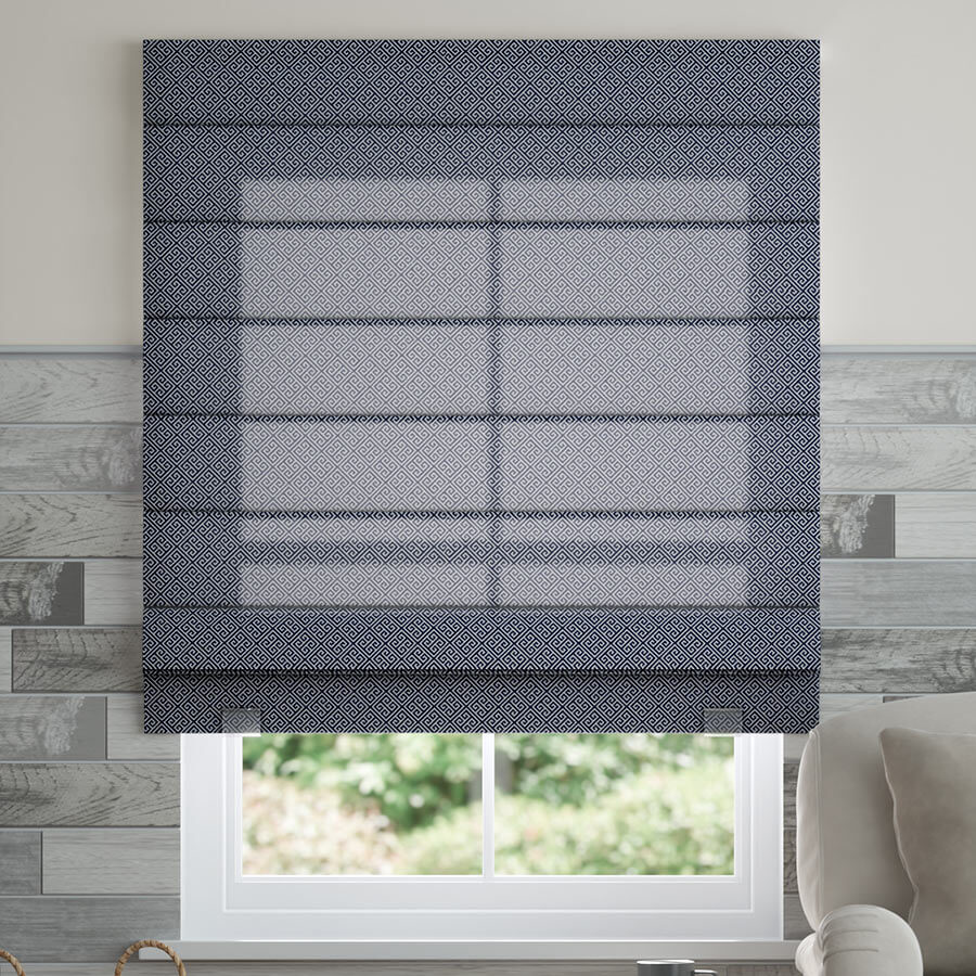 Select Light Filtering Roman Shades