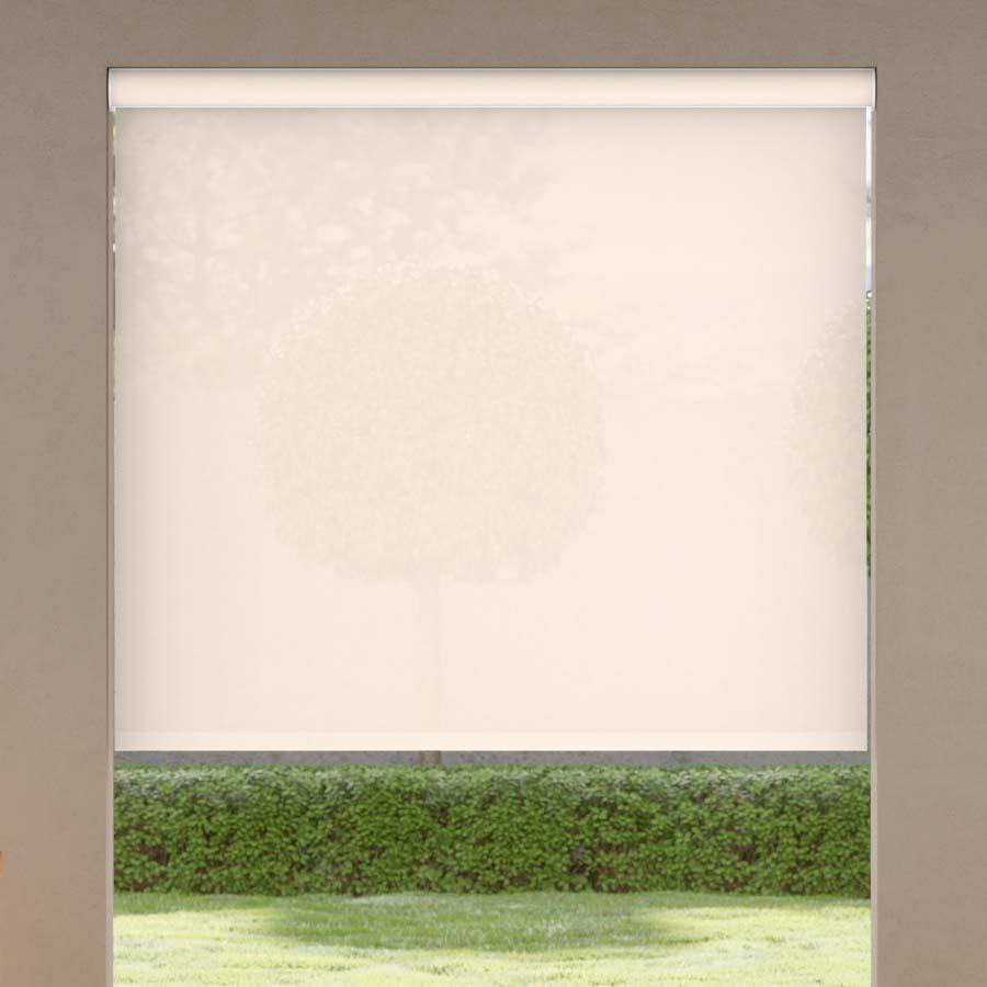 Cortinas Solares Clásicas Exteriores de Tejido Transparente del 5%