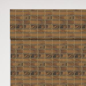 Premier Woven Wood Shades Zoomed