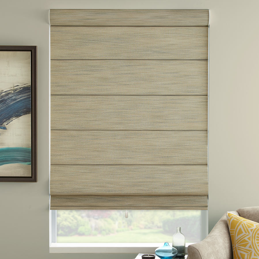 Premier Light Filtering Cord-Free Roman Shades