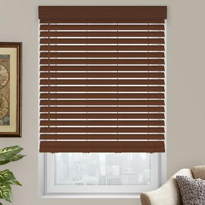2 Quot Premium Faux Wood Blinds From Selectblinds Com