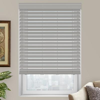 2 Premium Faux Wood Blinds