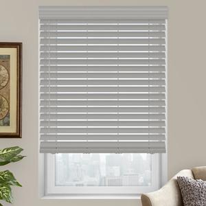 "2"" Luxe Modern Faux Wood Blinds"