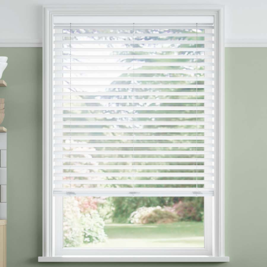 2 Selectwave Faux Wood Blinds From Selectblinds