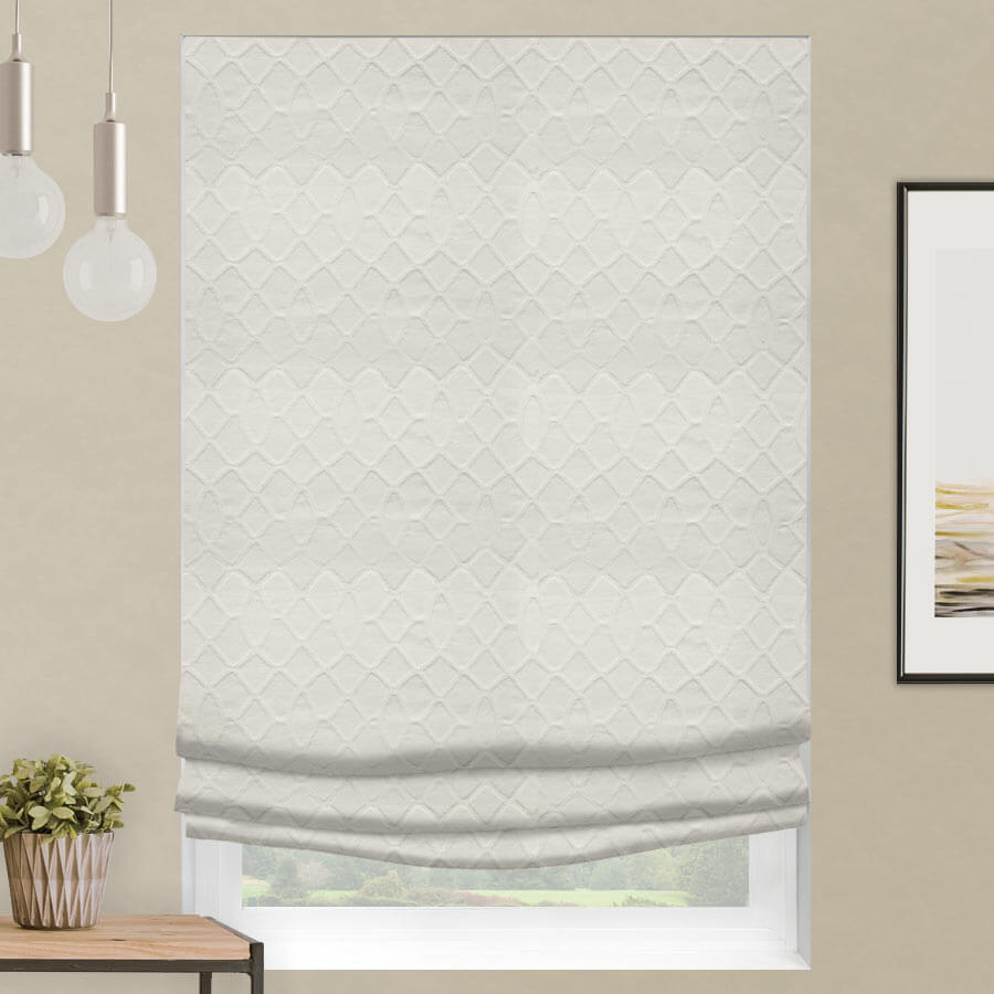 Designer Series Cordless Light Filtering Roman Shades