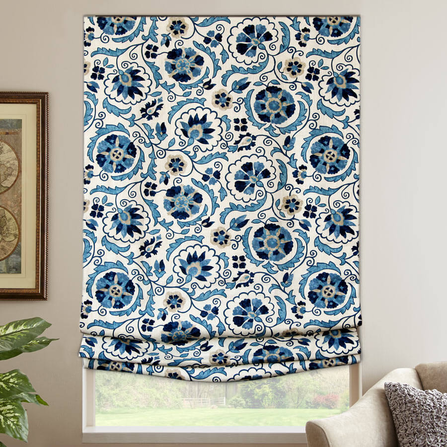 Designer Series Cordless Blackout Roman Shades