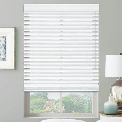 Premier 2 cordless faux wood blinds from for What does light filtering blinds mean