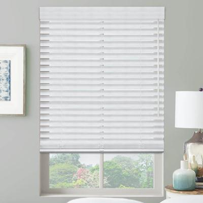 Premier 2 Cordless Faux Wood Blinds From Selectblinds Com