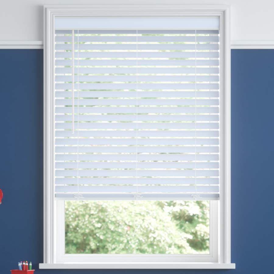 "2"" Room Darkening Fabric Horizontal Blinds"
