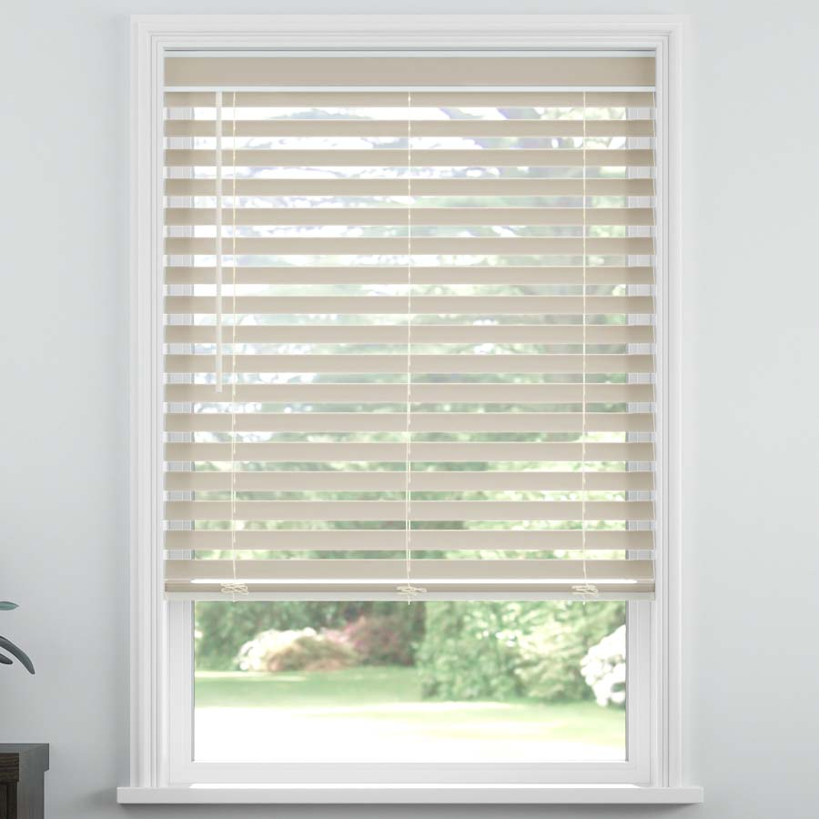 "Select 2 1/2"" Fabric Light Filtering Horizontal Blinds"