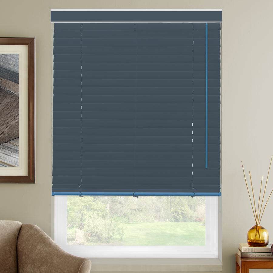 "2"" Select Classic Room Darkening Fabric Horizontal Blinds"