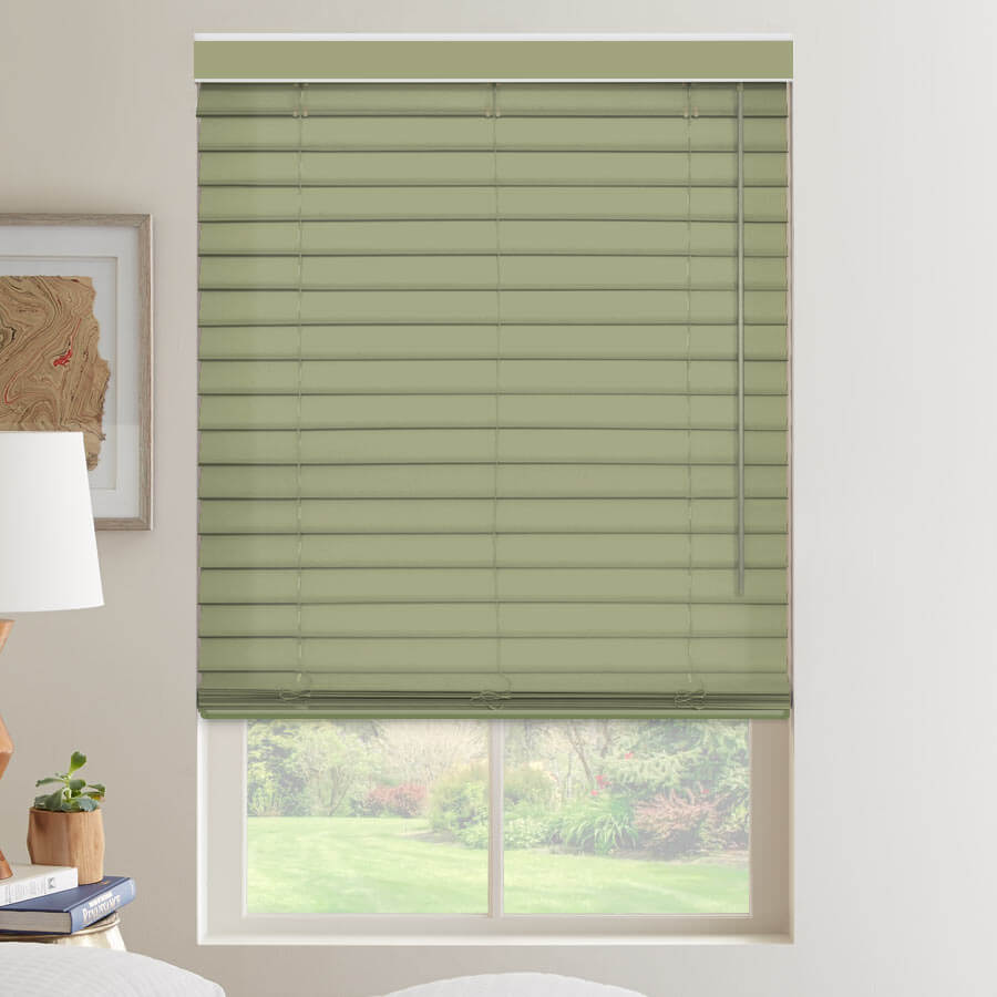 "2 1/2"" Select Classic Light Filtering Fabric Horizontal Blinds"