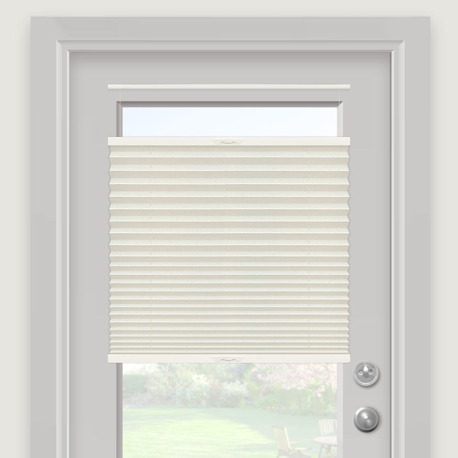 "Select 1"" Light Filtering Pleated Shades"