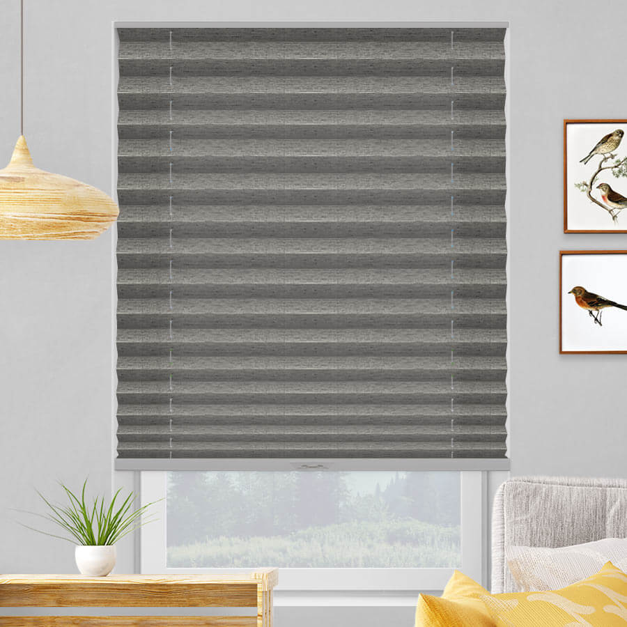 Select Light Filtering Grand Pleated Shades