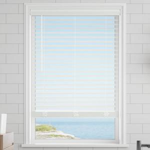 "Classic 2"" Cordless Faux Wood Blinds"