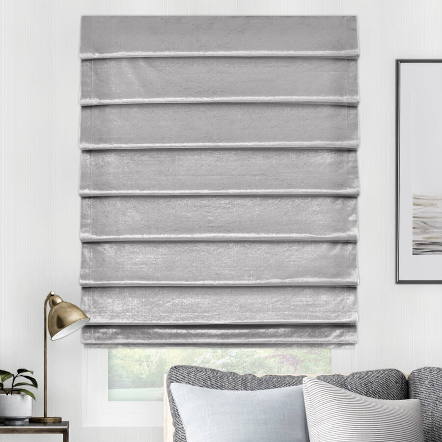 Essential Light Filtering Roman Shades