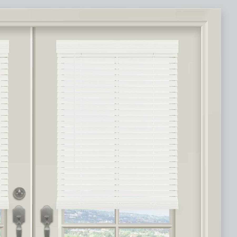 """2"""" Traditional Faux Wood Blinds"""