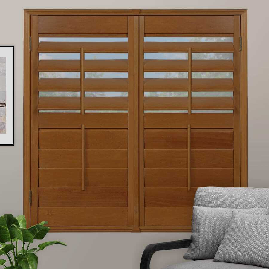 Select Stained Wood Shutters