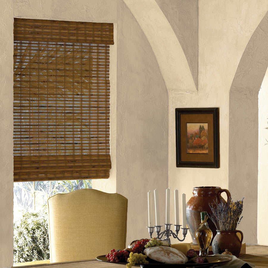 Premier Bamboo Shades are great eco-friendly window coverings.