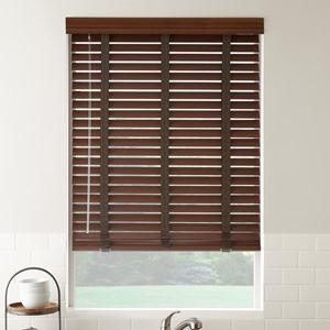2 American Hardwood Wood Blinds 4785