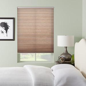 Select Light Filtering No-Holes Pleated Shades 6615