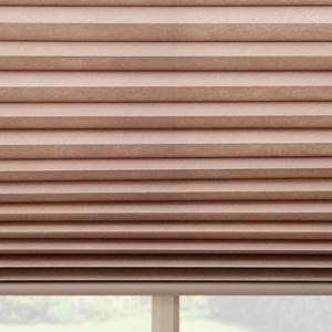 Select Light Filtering No-Holes Pleated Shades 6614
