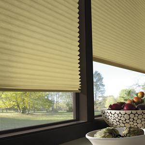 Sonoma Blackout No-Holes Pleated Shade 5110