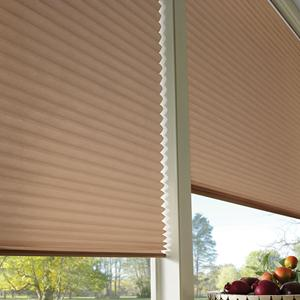 Sonoma Blackout No-Holes Pleated Shade 5874