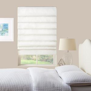 Basic Solid Light Filtering Roman Shades 6039
