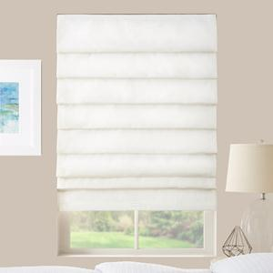 Basic Solid Light Filtering Roman Shades 6054