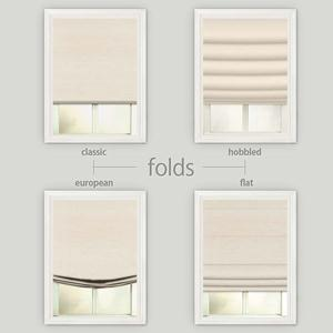 Basic Solid Roman Shades 4793
