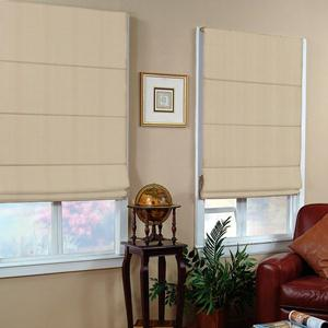 Signature Basic Solid Light Filtering Roman Shades 6040