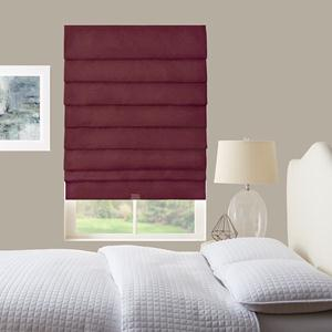 Signature Basic Solid Light Filtering Roman Shades 8350