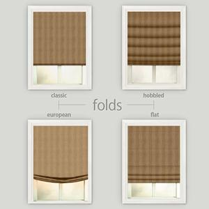 Deluxe Stripes Roman Shades 4799