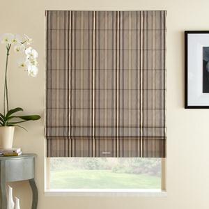 Classic Stripes Light Filtering Roman Shades