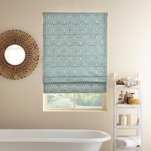 Prints and Floral Light Filtering Roman Shades 6462