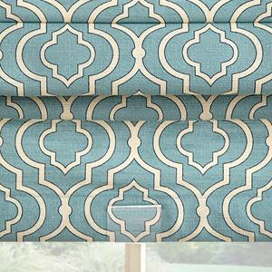 Prints and Floral Light Filtering Roman Shades 6525