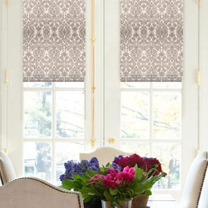 Premium Prints and Floral Roman Shades