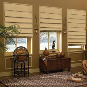 Premium Solid Blackout Roman Shades 6072